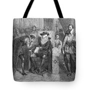 James I Appoints Bacon Lord Chancellor Tote Bag
