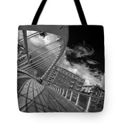 James Joyce Bridge 2 Bw Tote Bag