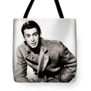 James Stewart, Hollywood Legend By John Springfield Tote Bag