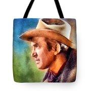 James Stewart, Vintage Hollywood Legend Tote Bag