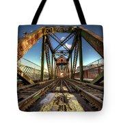 James Street Swing Bridge Tote Bag