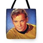 James T. Kirk Tote Bag