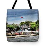 Jamestown Boat Yard Tote Bag