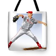 Jamie Moyer Tote Bag