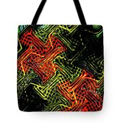 Janca Abstract Panel #5473w3 Tote Bag
