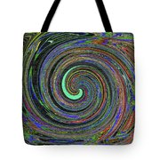Janca Abstract Panel #5473w4 Tote Bag