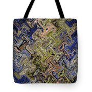 Janca Color Panel Abstract #5687 Et1b Tote Bag