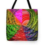 Janca Colors Panel Abstract # 5212 Wtw7 Tote Bag