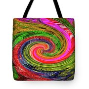 Janca Colors Panel Abstract # 5212 Wtw7abc Tote Bag