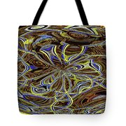 Janca Oval Abstract 4917 W3a Tote Bag