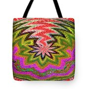 Janca Pink Color Panel Abstract #5212 Wtw6 Tote Bag