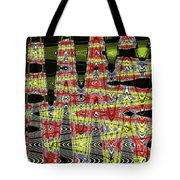 Jancart #0010-8 Abstract Tote Bag