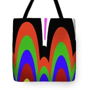 Jancart Drawing Abstract #8455pc Tote Bag