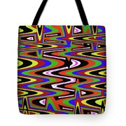 Jancart Drawing Abstract #8455ws Tote Bag
