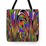Jancart Drawing Abstract #8455wspc Tote Bag
