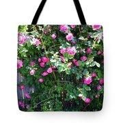 Jane's Rose Bush Tote Bag