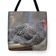 Janet The Happy Hen Tote Bag