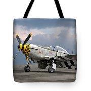 Janie P-51 Tote Bag