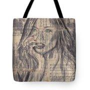 Janine Tote Bag