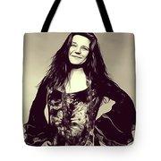 Janis Joplin, Music Legend Tote Bag