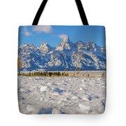January At The Tetons Tote Bag