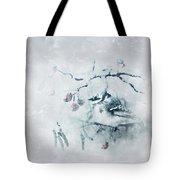 January Bluejay  Tote Bag