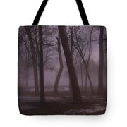 January Fog 1 Tote Bag