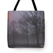 January Fog 3 Tote Bag