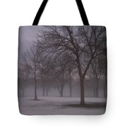 January Fog 4 Tote Bag