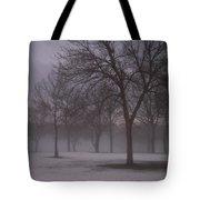 January Fog 4 Tote Bag