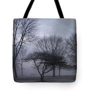 January Fog 6 Tote Bag