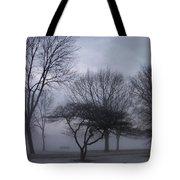January Fog 6 Tote Bag