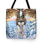 January Gryphon Tote Bag