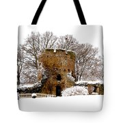 January Snow In England  Tote Bag