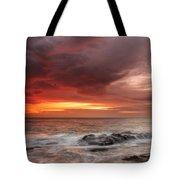 January Sunrise Tote Bag
