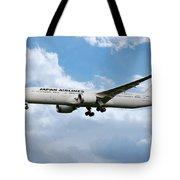Japan Airlines Boeing 787 Dreamliner Tote Bag