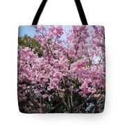 Japan Blossoms Tote Bag