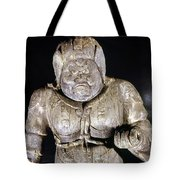 Japan: Buddhist Statue Tote Bag