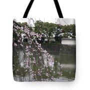Japan Cherry Tree Blossom Tote Bag