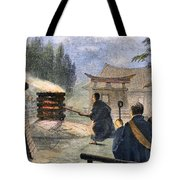 Japan: Cremation, 1890 Tote Bag