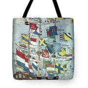 Japan: Dutch Ship Tote Bag