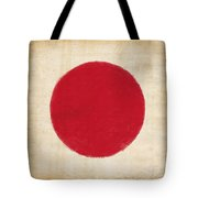 Japan Flag Tote Bag