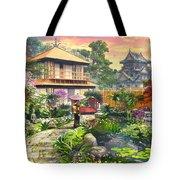 Japan Garden Variant 2 Tote Bag