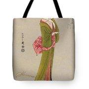 Japan: Geisha, C1794 Tote Bag