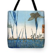 Japan: Iris Garden, 1857 Tote Bag