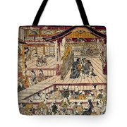 Japan: Kabuki Theater Tote Bag