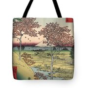 Japan: Maple Trees, 1858 Tote Bag