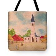 Japanese Artistic Light Of Esaias Van De Velde Tote Bag