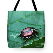 Japanese Beetle Tote Bag