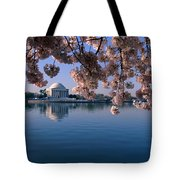Japanese Cherry Blossoms Prunus Tote Bag